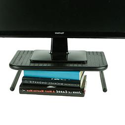 Mind Reader Metal Monitor Stand, Monitor Riser for Computer,
