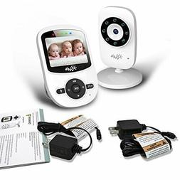 Video Baby Monitor, Wireless Baby Security Camera Monitors,