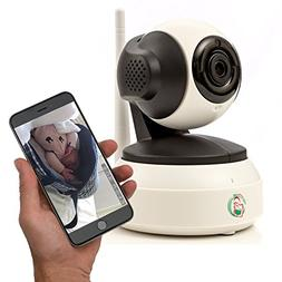 Video baby monitor - Nanny camera with WiFi - Wireless surve