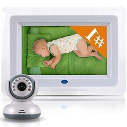 "Best Video Baby Monitor -7"" screen across and total unit is"