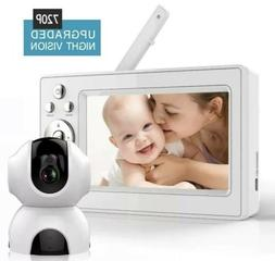 Bable Baby Monitor with Camera, 5 Inch 720P Video Baby Monit