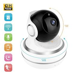 Dollermy Monitor Camera,960P HD Home WiFi Wireless Security
