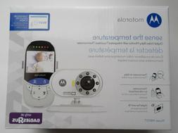 Motorola Video Baby Monitor and Integrated Touchless Thermom