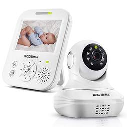 Video Baby Monitor with Camera, HD Night Vision,Two-Way Talk
