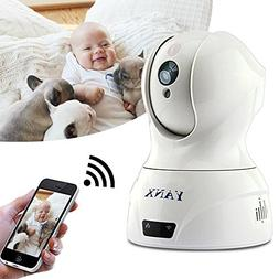 YANX Baby Monitor Dog Camera Wireless HD IP Camera Home Secu