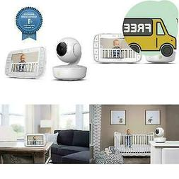Motorola Mbp36Xl Portable Video Baby Monitor, 5-Inch Color S