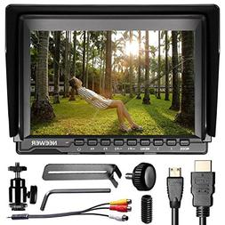 Neewer NW759 7Inch 1280x800 IPS Screen Camera Field Monitor