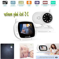 """New 2.4GHz 3.5"""" Inch LCD Wireless Video Baby Monitor Camera"""