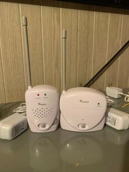 New SAFETY 1st 2 Channel Baby Monitor Set