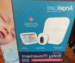 """New Angelcare Baby Movement Monitor w/ 5"""" Touchscreen Disp"""