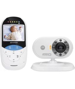 New Motorola MBP27T 2.4 GHz Digital Video Baby Monitor w/ To