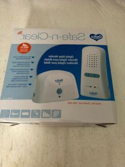 NEW Delta Children Safe n Clear Digital Baby Monitor 800 ft