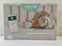 NEW SEALED! Owlet Smart Sock 2 Baby Heart Rate & Oxygen Leve