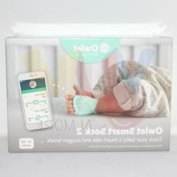 NEW Owlet Smart Sock 2 Baby Oxygen Level and Heart Rate Moni