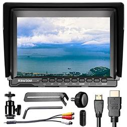 Neewer NW759 7 inches 1280x800 IPS Screen Field Monitor with
