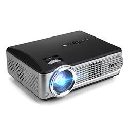 iRULU P4 HD Video Projector LED Home Projector 1080P Support