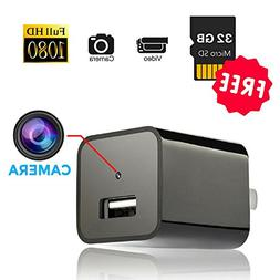 Hidden Security Camera USB Wall Charger, The perseids 1080P