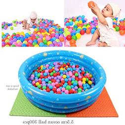 300 pcs Baby Kid Pit Toy Game Swim Pool Soft Plastic Ocean B