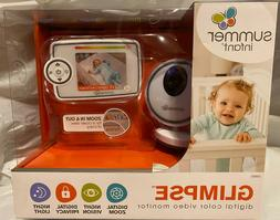 Summer Glimpse Plus Video Baby Monitor with 3.5-inch Color L