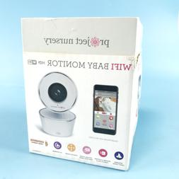 Project Nursery HD WiFi Video Baby Monitor System with Sound