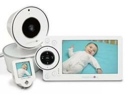 "Project Nursery 5"" High Definition Baby Monitor System w/ 1."