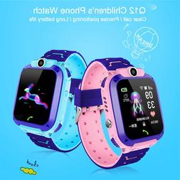 Q12 Smart Watch LBS Kid SmartWatches <font><b>Baby</b></font