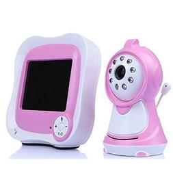 "3.5"" Color LCD Real-time Display Digital Baby Monitors with"