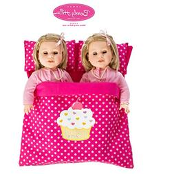 Beverly Hills Reversible Doll twin/friend sleeping bag Fits