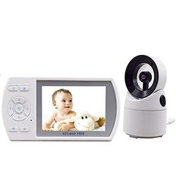 Ocamo 3.5 Inches Rotatable Wireless Infant Monitor Real-time