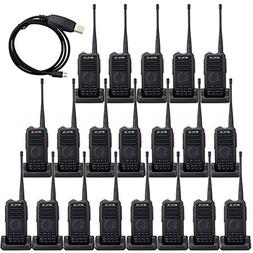 Retevis RT25 Walkie Talkies UHF 400-470MHz 16 CH 5 W VOX Scr