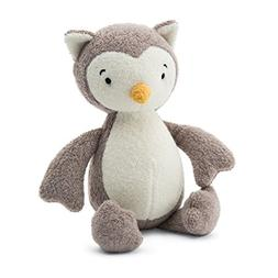 Jellycat Rumpus Owl Rattle, 8 inches