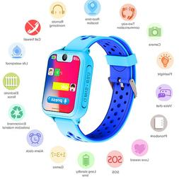 S6 LBS Kids <font><b>Baby</b></font> Smart Watch with Camera