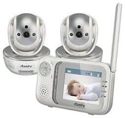 VTech Safe and Sound Baby Monitor + Extra Camera-VM333-2