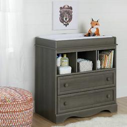 South Shore Furniture Savannah Changing Table with Drawers -