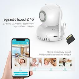 Security HD IP 720P camera Baby Pet Monitor Night Vision Ind