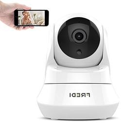 Security Ip Camera, FREDI Day&Night Vision WiFi Home Camera