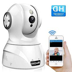 Mucjun Security Wireless IP Camera, HD 1080p WiFi Home Surve