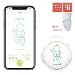Sense-U Baby Infant Breathing Movement Monitor Sensor w/Swad