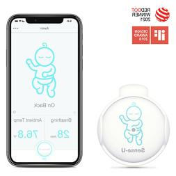 Sense-U Baby Breathing & Rollover Baby Movement Monitor wit