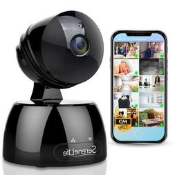 SERENE-LIFE IP Camera WiFi Cam - HD Network Camera with Remo