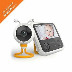 Wisenet SEW-3048WN BabyView Eco Video Baby Monitor with 4.3
