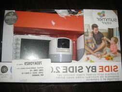 """Summer Infant Side by Side 2.0 5"""" Video Baby Monitor with Du"""