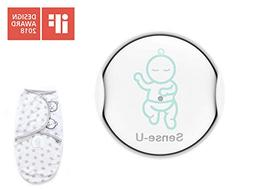 Sense-U Baby Breathing & Rollover Movement Monitor with a F