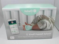 Owlet Smart Sock 2 Baby Heart Rate & Oxygen Level Health Mon