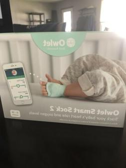 Owlet Smart Sock 2 Baby Monitor - Checks Baby's Heart Rate a