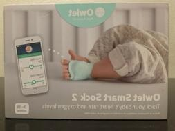 Owlet Smart Sock 2 Baby Oxygen Level and Heart Rate Monitor