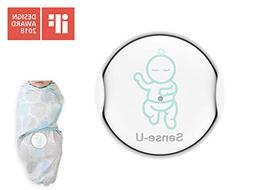 Sense-U Smart Swaddle Baby Breathing & Rollover Movement Mon