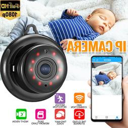1080P HD Smart WiFi IP Camera P2P Baby Monitor IR Night Visi
