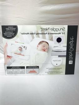 Baby Delight Snuggle Nest Video Baby Monitor with Alarm | 3.