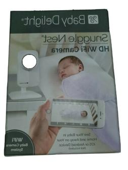 Baby Delight Snuggle Nest HD WiFi Camera to use with a Smart